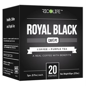 Picture of Royal Black Cafe PT 20 Stickpacks